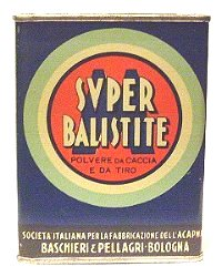 Super Balistite smokeless powder can