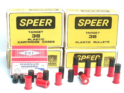 Speer Plastic Bullets