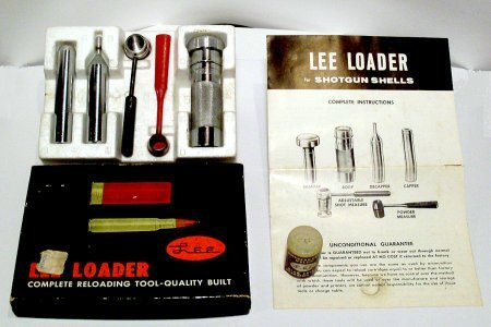 Lee loader instructions.